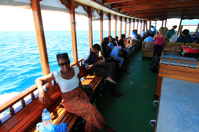 Maldives' Public Ferry Boat
